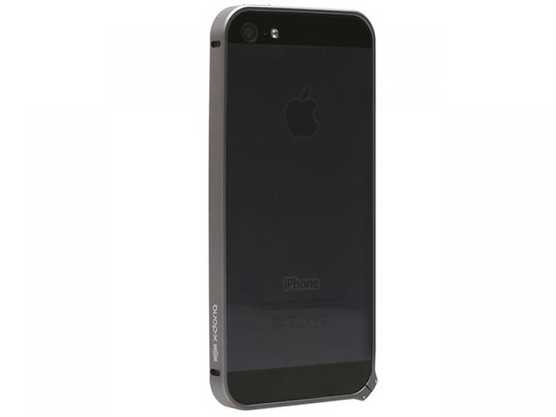 Чехол для мобильного телефона X-Doria Bump Case 426596 Black Mettalic