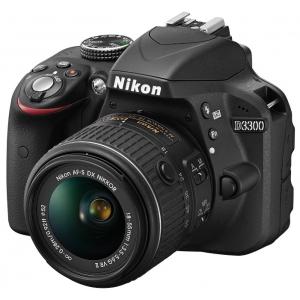 Зеркальный фотоаппарат Nikon D3300 + 18-55VR Black