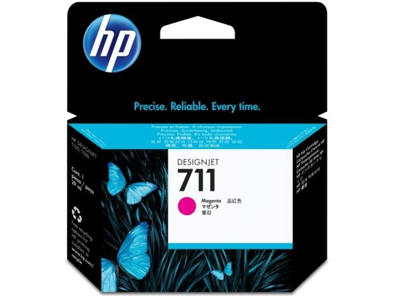 Картридж HP-DJ T120/T520 CZ131A (711) Magenta