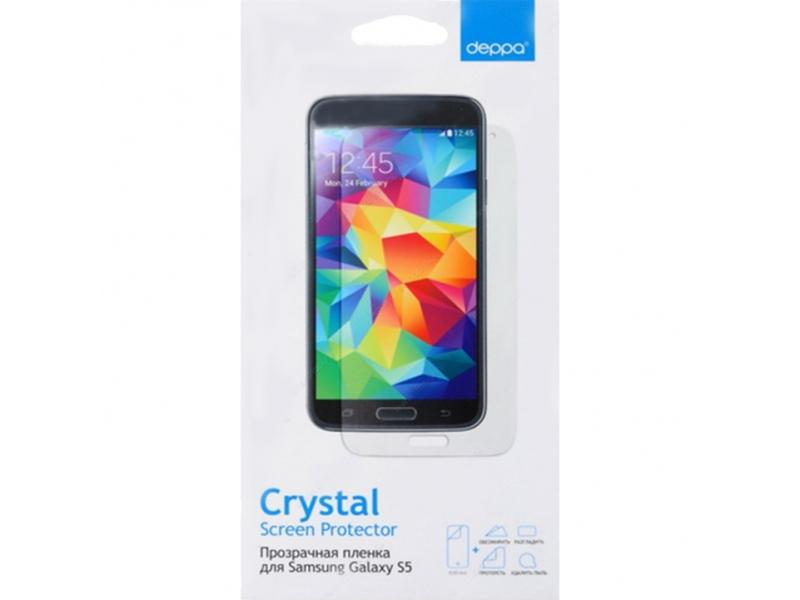 Защитная пленка Deppa (Samsung Galaxy S5) Прозрачная