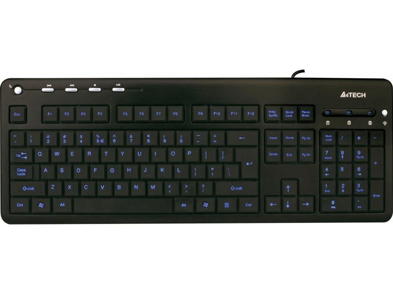 Клавиатура A4Tech KD-126 Black