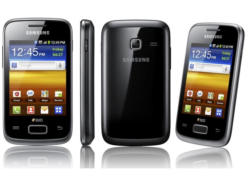 Смартфон Samsung Galaxy Y Duos GT-S6102SKUSKZ
