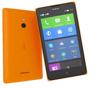 Смартфон Nokia XL Orange
