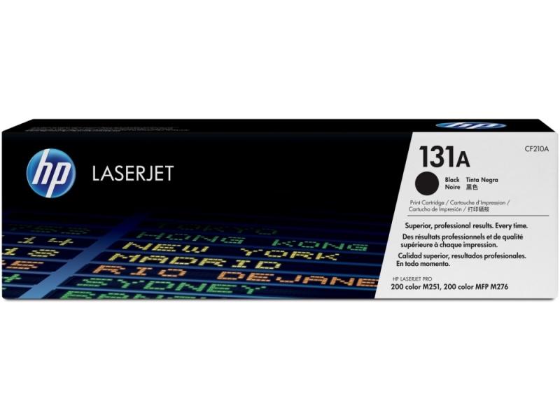 Картридж HP-LJ Pro 200M251 CF210A Black