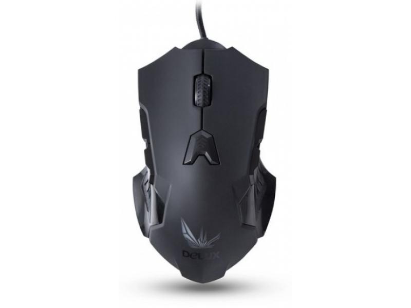 Мышь Delux DLM-811LUB Black
