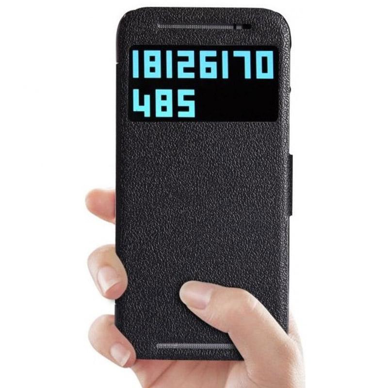 Чехол для мобильного телефона Nillkin Fresh Series Leather Case NLK-5350 Для HTC One M8 Black
