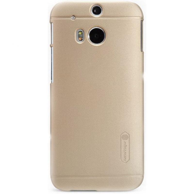 Чехол для мобильного телефона Nillkin Hard Case NLK-5276 Для HTC One M8 Gold