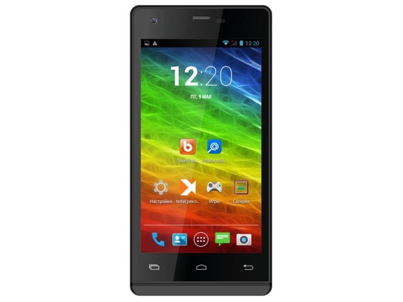 Смартфон Texet X-Media Plus TM-4872 Black