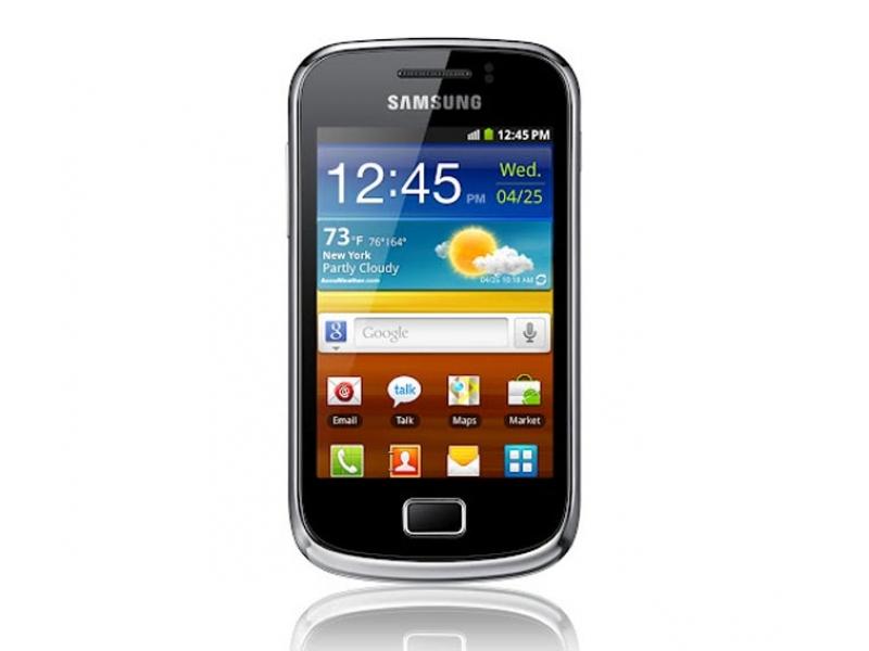 Смартфон Samsung Galaxy Mini 2 GT-S6500ZYDSKZ