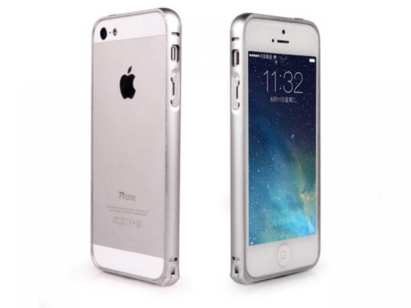 Чехол для мобильного телефона Yortix BUMPERARC YTX-6116-A-IP5S Silver