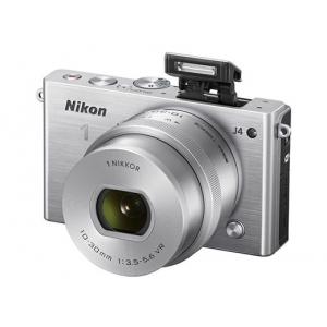 Цифровой фотоаппарат Nikon 1 J4 Silver