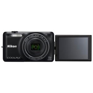 Цифровой фотоаппарат Nikon Coolpix S6600 Black