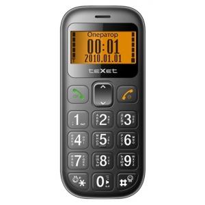 Мобильный телефон Texet TM-B111 Black