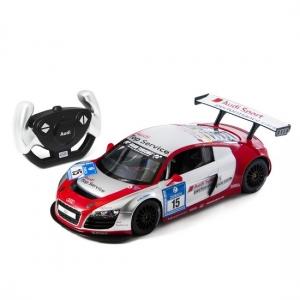 Радиоуправляемая игрушка Rastar Audi R8 LMS Silver/Red