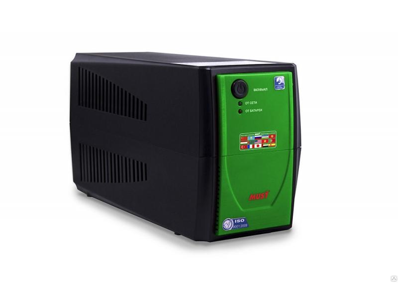 Источник бесперебойного питания Must EA 1000 500VA Green
