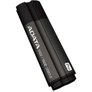 Флэшка A-Data S102PRO AS102-16G-RGY Grey/Black
