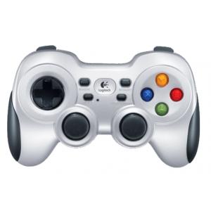 Джойстик Logitech Gamepad F710 Silver