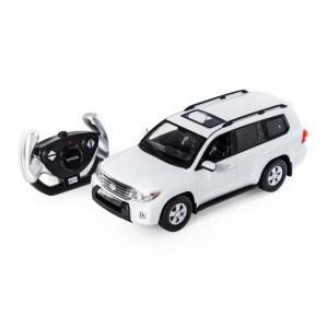 Радиоуправляемая игрушка Rastar Toyota Land Cruiser White