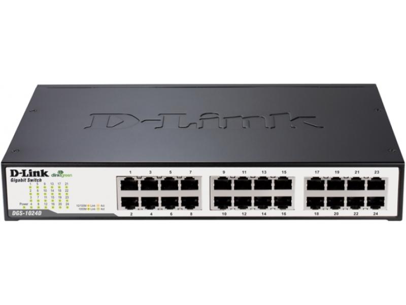 Коммутатор D-link DGS-1024D/G1A