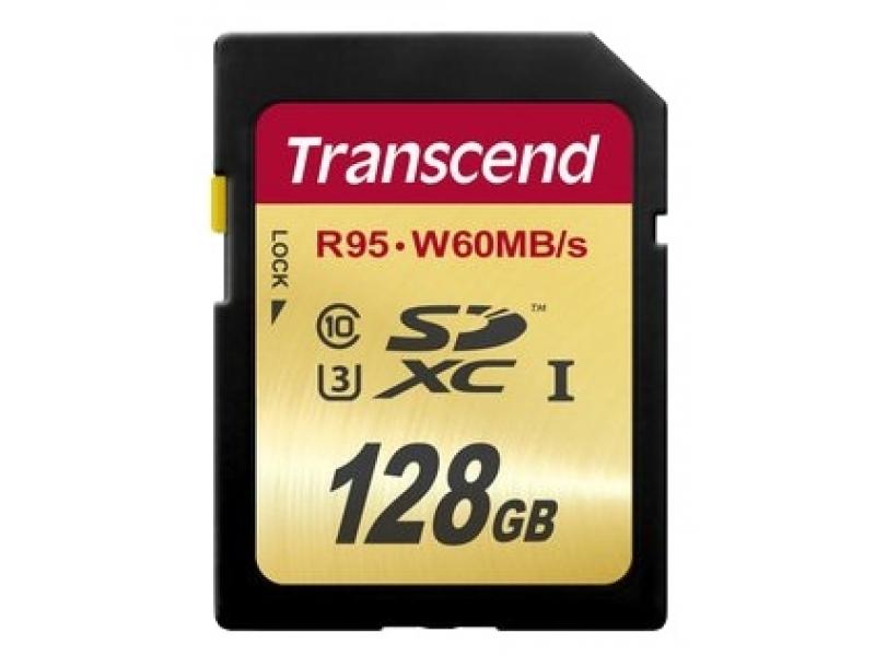 Карта памяти Transcend TS128GSDU3 UHS-I U3