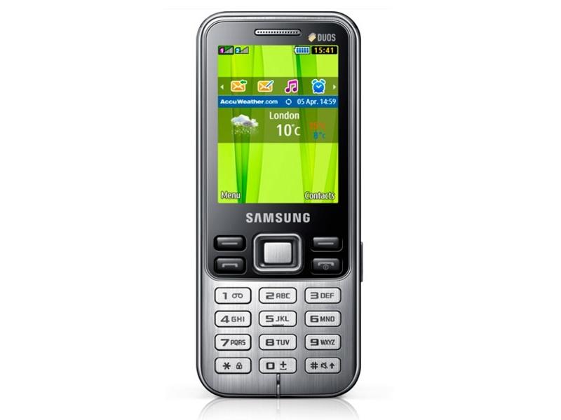 Мобильный телефон Samsung GT-C3322MKISKZ