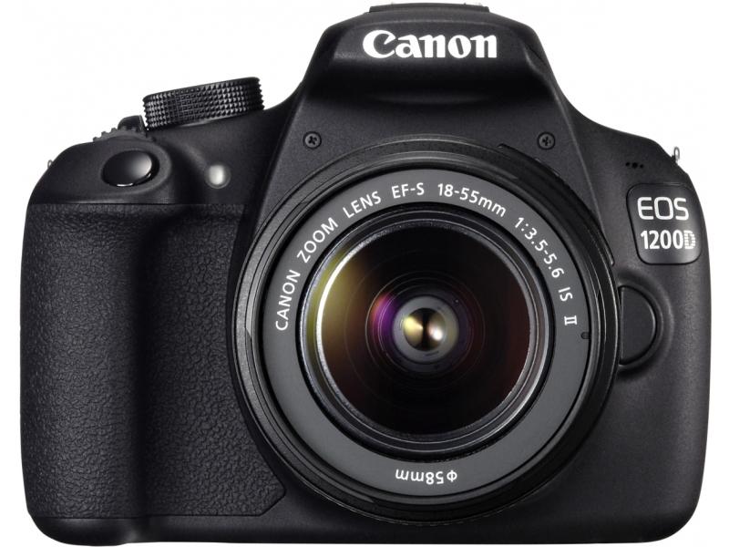 Зеркальный фотоаппарат Canon EOS 1200D 18-135 IS Lens Kit Black