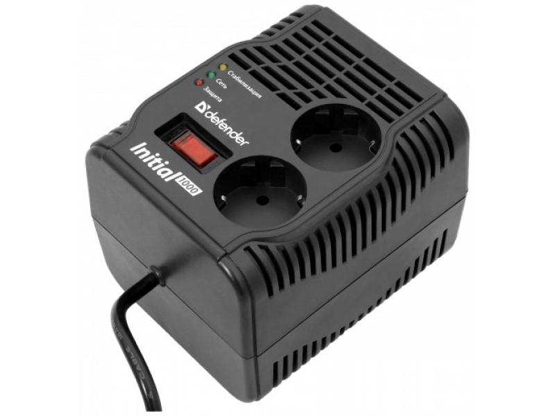 Стабилизатор напряжения Defender AVR INITIAL 1000