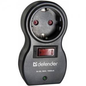 Сетевой фильтр Defender Voyage 100 Black