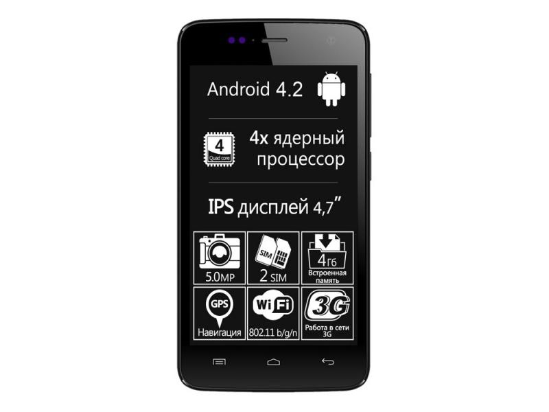 Смартфон Explay Vega Black