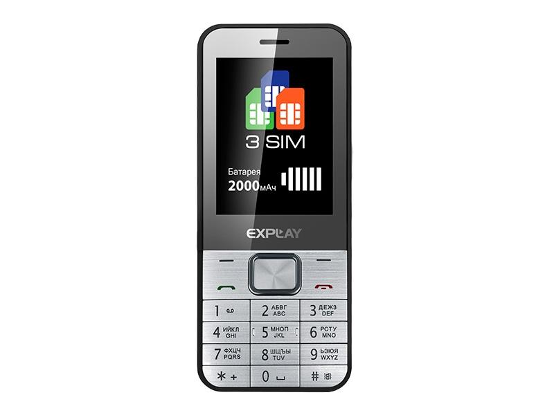 Мобильный телефон Explay Element Silver/Black