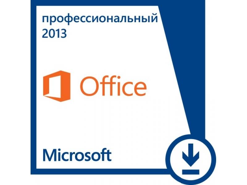 Microsoft Office Microsoft Office Professional 2013 PKL Online CntlEastEu DwnLd C2R NR (AAA-02790)
