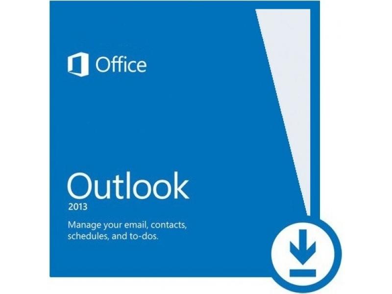 Microsoft Office Microsoft Outlook 2013 PKL Online DwnLd C2R NR (AAA-01668)