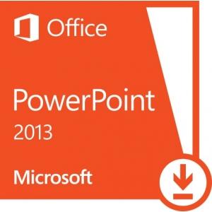 Microsoft Office Microsoft PowerPoint 2013 PKL Online DwnLd C2R NR (AAA-01801)