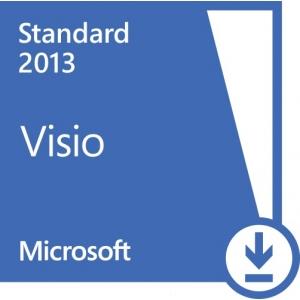 Microsoft Office Microsoft VISIO Standart 2013 PKL Online DwnLd C2R NR (AAA-02348)