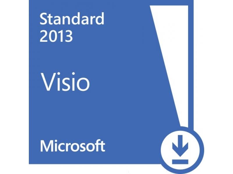 Microsoft Office Microsoft VISIO Standart 2013 PKL Online DwnLd C2R NR (AAA-02356)