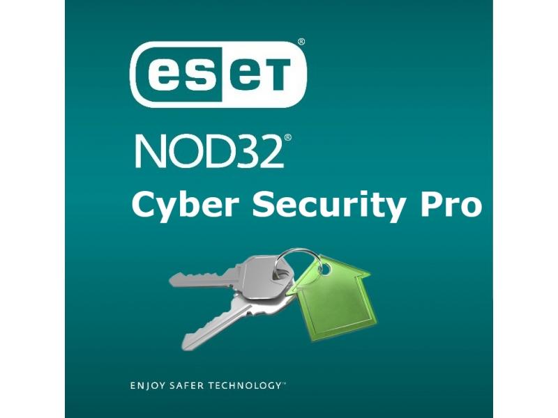 Антивирус Nod32 Eset CYBER SECURITY PRO