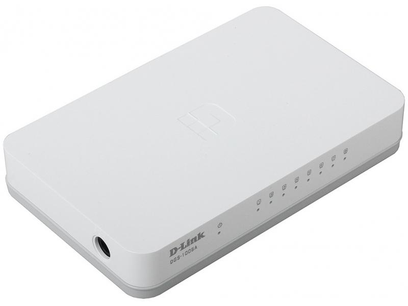 Коммутатор D-link DGS-1008A/C1A White