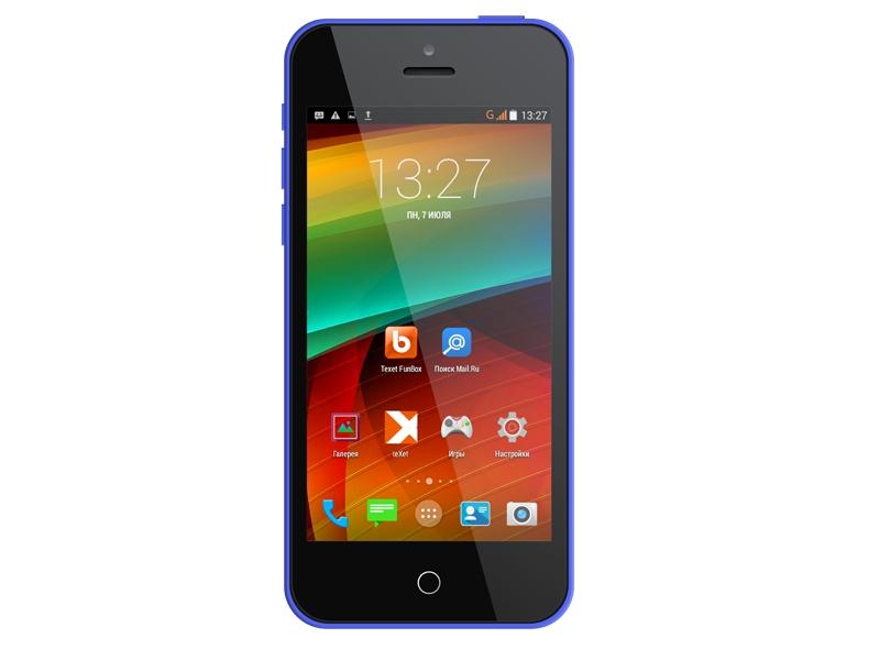 Смартфон Texet Ix-Mini TM-4182 Blue