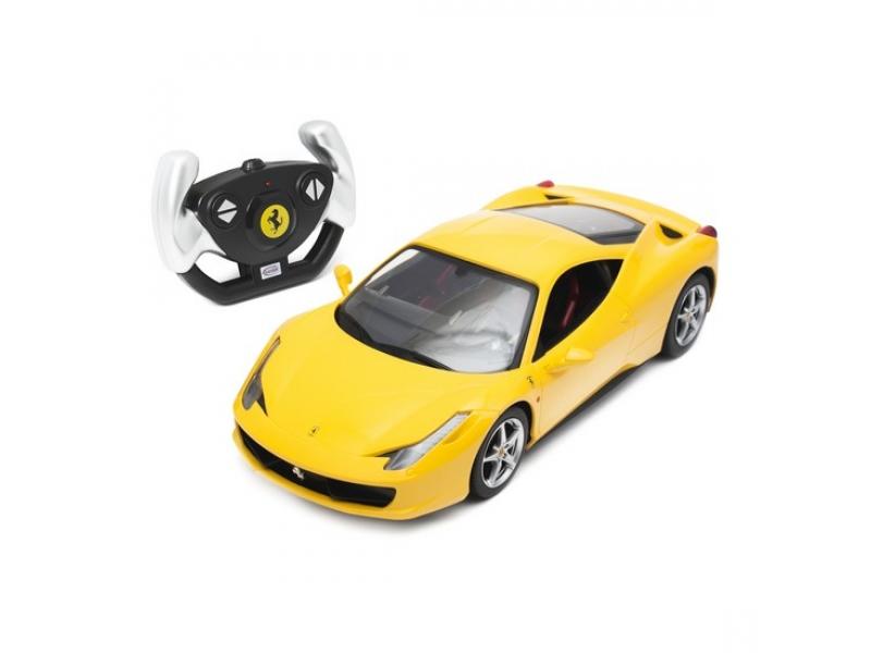 Радиоуправляемая игрушка Rastar Ferrari 458 Italia Yellow
