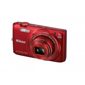 Цифровой фотоаппарат Nikon Coolpix S6800 Red