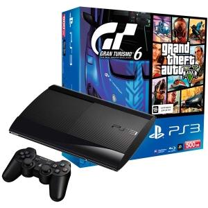 Игровая приставка Sony Playstation 3 +R/GT 6/GTA V