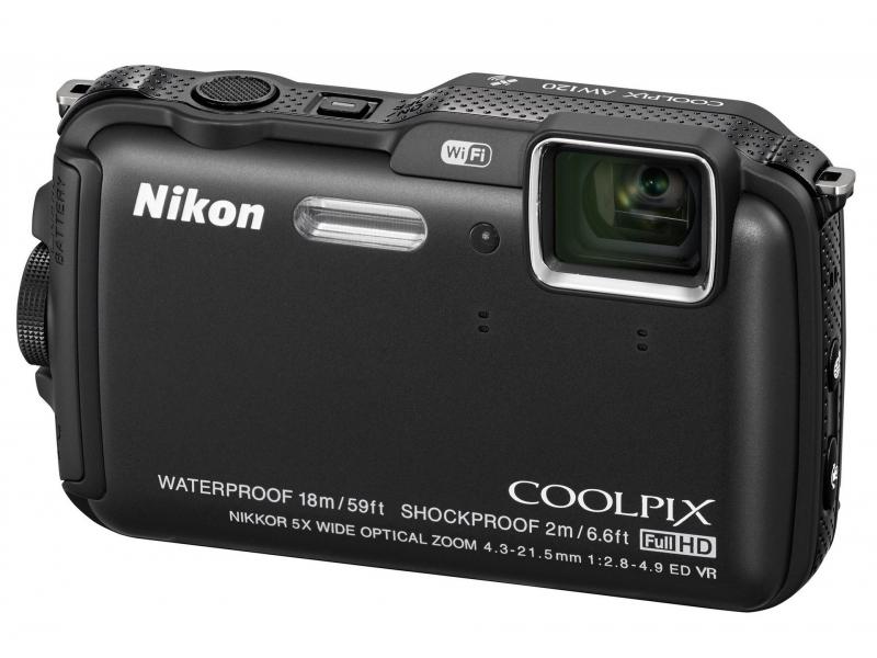 Цифровой фотоаппарат Nikon Coolpix AW120 Black