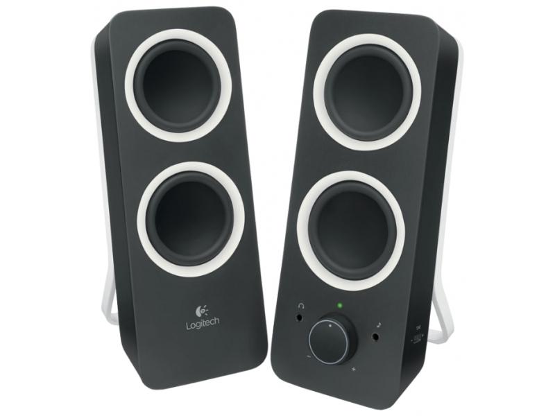 Звуковые колонки Logitech Z200 Black