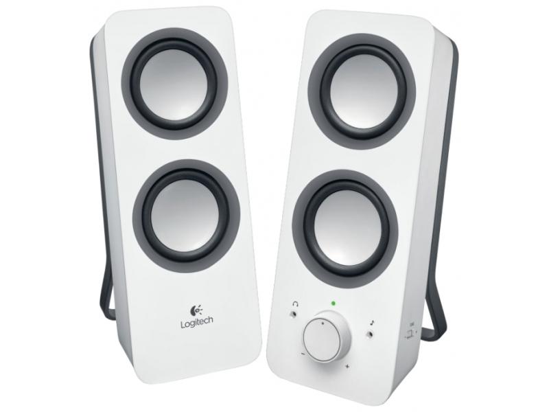 Звуковые колонки Logitech Z200 White