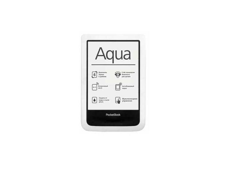 Электронная книга Pocketbook Basic 640 Aqua White
