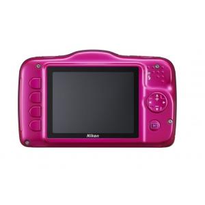 Цифровой фотоаппарат Nikon Coolpix S32 Pink