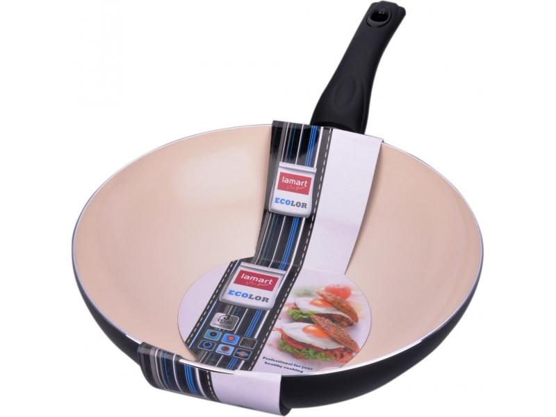 Сковорода Lamart LTK-2808 BW