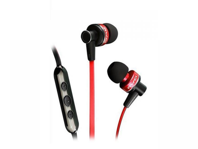 Наушники Awei Smart Earphone Red