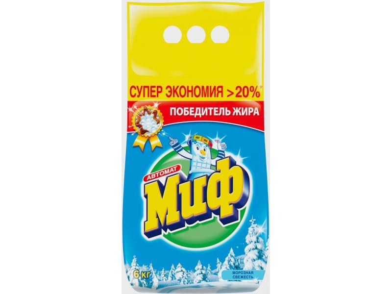 Стиральный порошок Миф Морозная свежесть (6 kg)