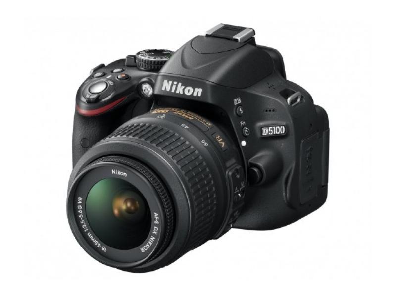 Зеркальный фотоаппарат Nikon D5100+AF-S DX 18-55 II Black